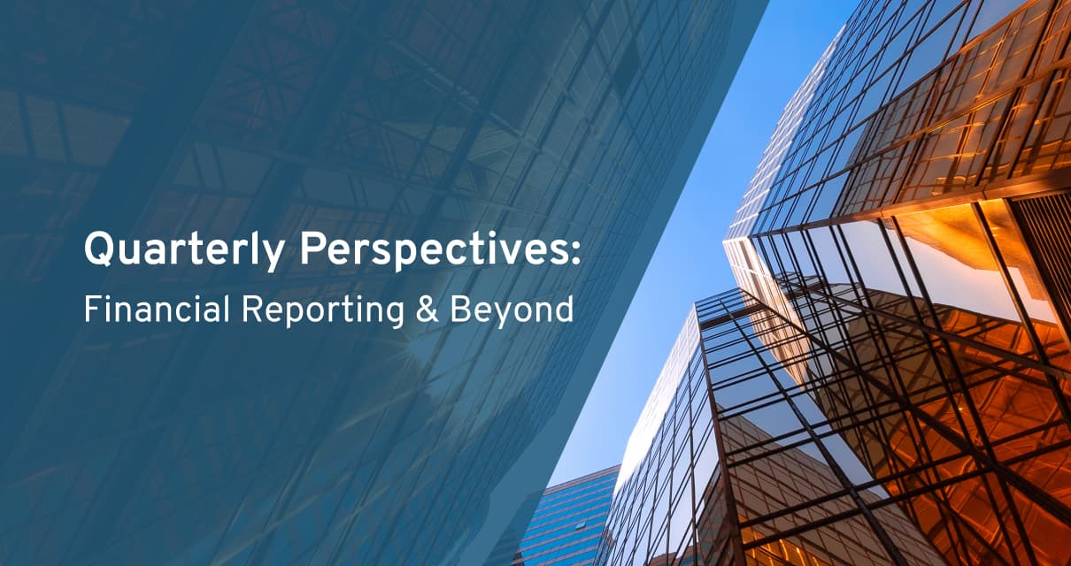 quarterly perspectives webcast series