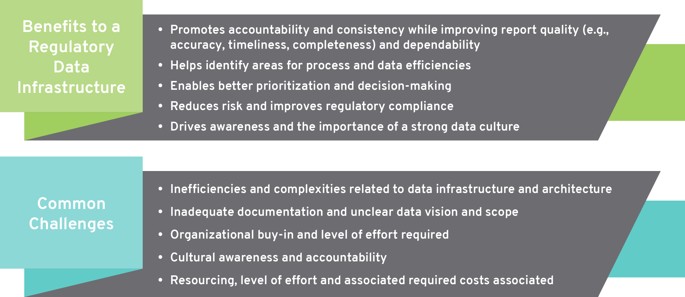 Benefits & Challenges to a Regulatory Data Infrastructure
