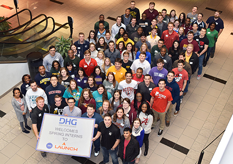 2017 Spring Interns at DHG Launch