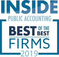 Inside Public Accounting - Best of the Best Firms 2019